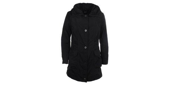 Dámský lehký kabát s kapsami v černé barvě Big Star