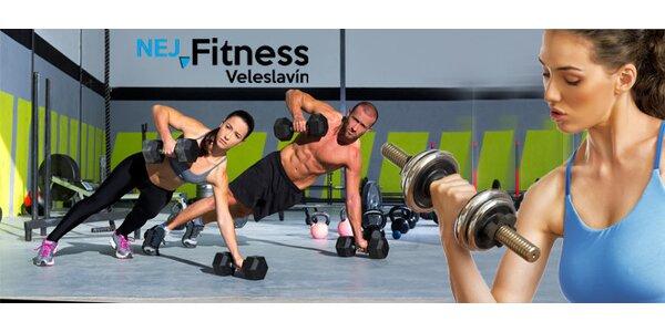Měsíční permanentka do Nej fitness