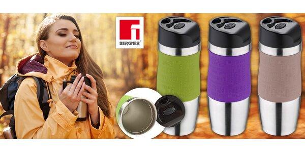 400ml termohrnek Bergner v elegantních barvách