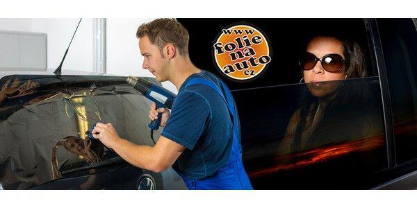 Tónování autoskel kvalitní fólií dle výběru