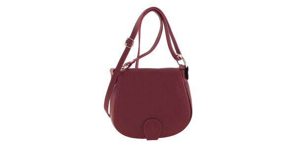Dámská červená menší kabelka přes rameno Ore 10