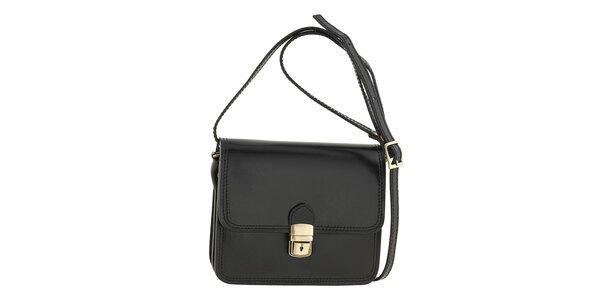 Dámská černá kabelka přes rameno Ore 10