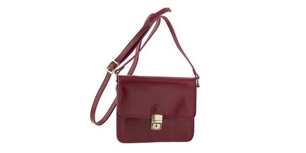 Dámská červená kabelka přes rameno Ore 10