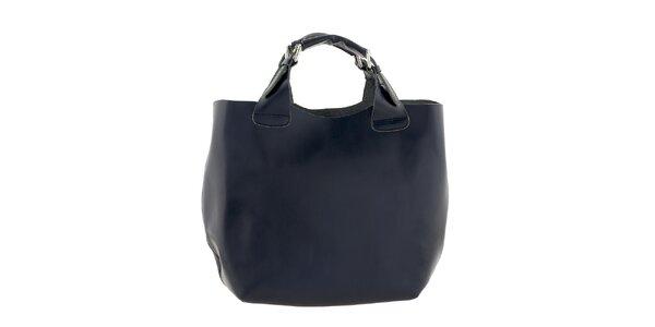 Dámská tmavě modrá velká kabelka Ore 10