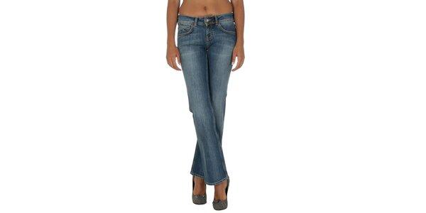 Dámské modré džíny s jemným šisováním Tommy Hilfiger