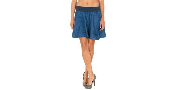 Dámská modrá džínová sukně Tommy Hilfiger