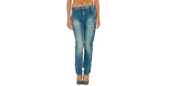 Dámské modré džíny s šisováním Tommy Hilfiger