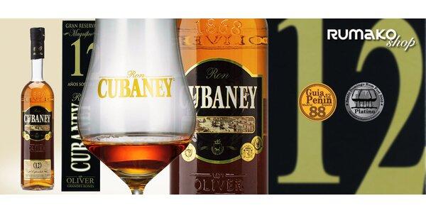 Dárkově balený rum Cubaney Gran Reserva 12 Años