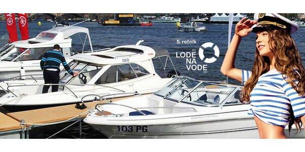 2 vstupenky na oblíbenou výstavu Lodě na vodě