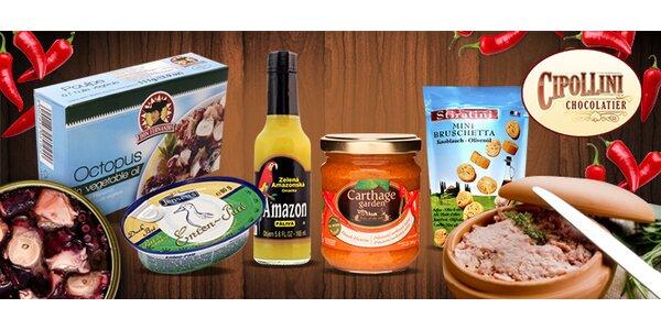 Luxusní italský balíček slaných dobrot od Cipollini Delikatessen