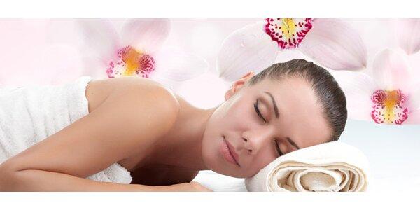 Křišťálová masáž s květy orchidejí 60 minut