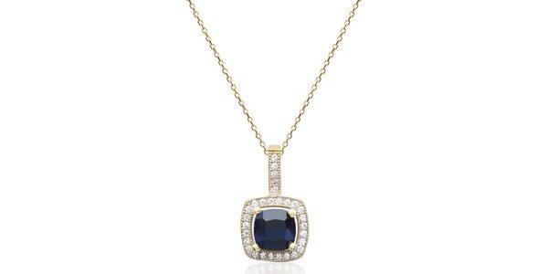 Dámský pozlacený náhrdelník s přívěskem Fifi Ange