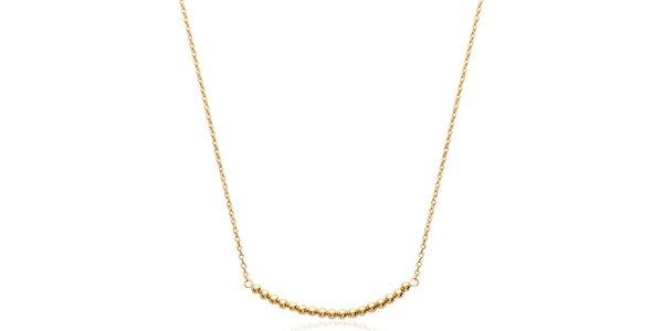 Dámský pozlacený náhrdelník Fifi Ange
