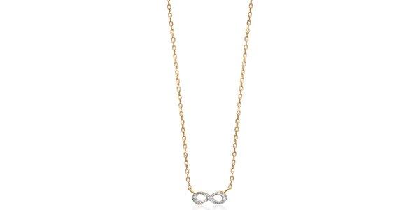 Dámský náhrdelník s ležatou osmičkou Fifi Ange