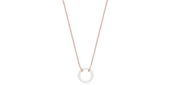 Dámský náhrdelník s keramickým kroužkem Fifi Ange