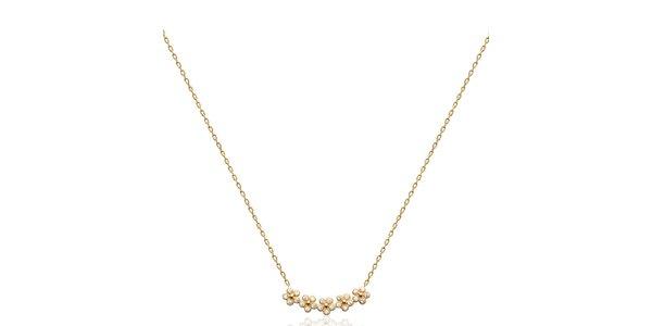 Dámský náhrdelník s kytičkami Fifi Ange
