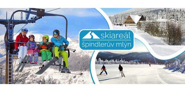 Celodenní lyžování ve Skiareálu Špindlerův Mlýn
