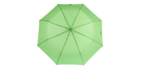 Dámský zelený vystřelovací deštník Ferré Milano