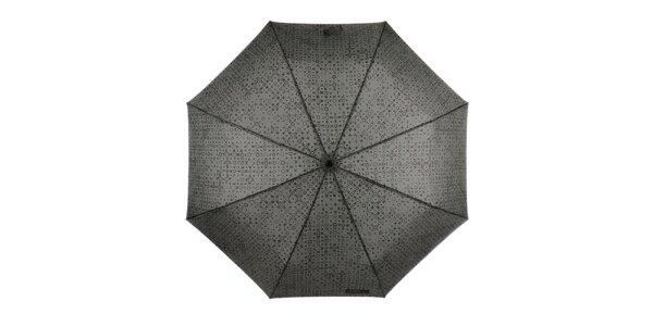 Pánský vystřelovací skládací deštník se vzorem Ferré Milano