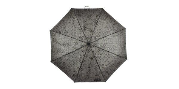 Pánský skládací vystřelovací vzorovaný deštník Ferré Milano