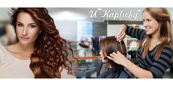Dámský střih a vlasová regenerace Oro Therapy