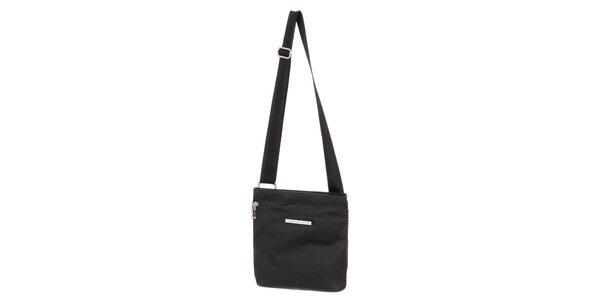 Pánská černá taška s kapsou na zip Tommy Hilfiger