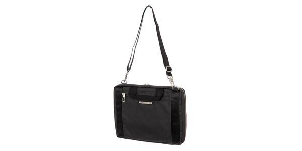 Pánská černá obdélníková taška přes rameno Tommy Hilfiger