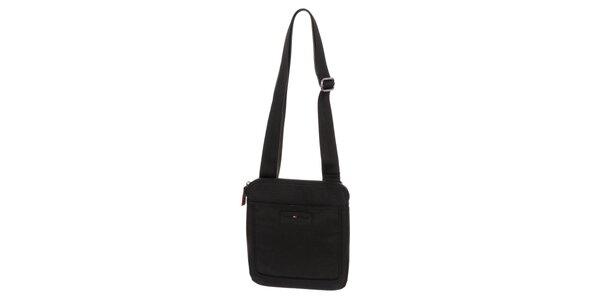 Pánská taška přes rameno v černé barvě Tommy Hilfiger