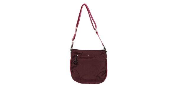 Dámská kabelka přes rameno Tommy Hilfiger - fialová