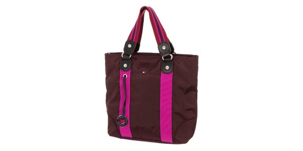 Dámská kabelka Tommy Hilfiger - fialová