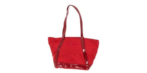 Dámská červená kabelka Tommy Hilfiger