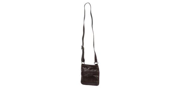 Pánská hnědá taška z umělé kůže Tommy Hilfiger