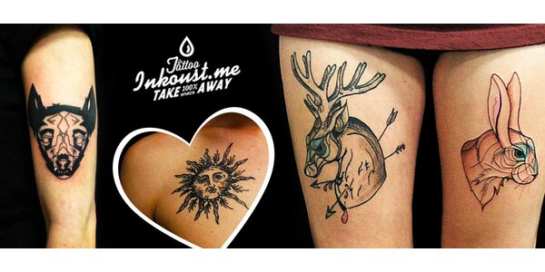 Tetování 10×10 cm či větší ve studiu Inkoust Tattoo