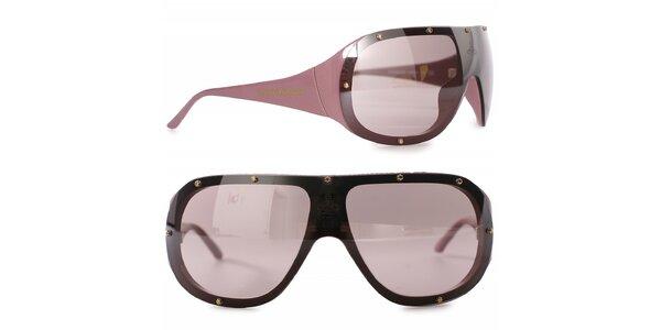 Dámské černo-hnědé sluneční brýle Vivienne Westwood