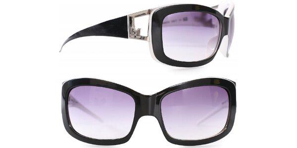 Dámské černo-bílé sluneční brýle Missoni