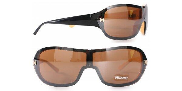 Dámské černé sluneční brýle Missoni