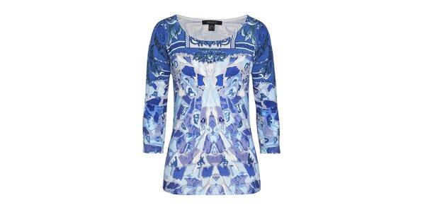 Dámský svetr v modrých odstínech Imagini