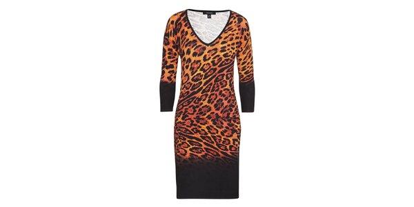Dámské leopardí šaty Imagini