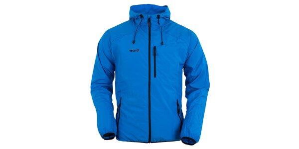 Pánská modrá bunda s kapucí Izas