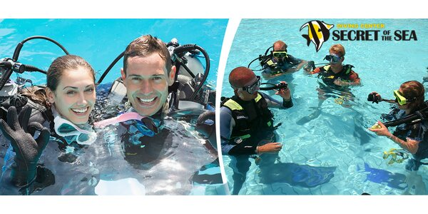 Zkušební potápění včetně vstupu do bazénu