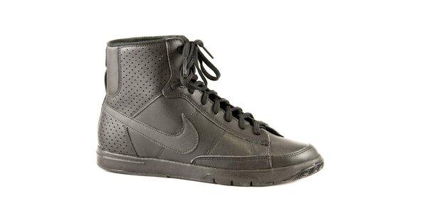 Dámské černé kotníkové tenisky Nike