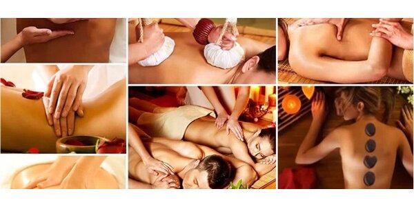 Thajské masáže v délce 30 a 60 minut v novém unikátním salonu, Praha - Čestlice