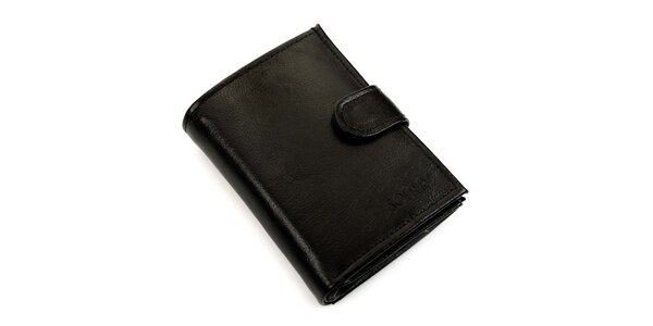Pánská obdélníková peněženka s přezkou Solier