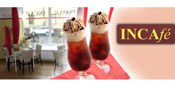 59 Kč za 2 osvěžující ledové kávy s jemnou vanilkovou zmrzlinou.