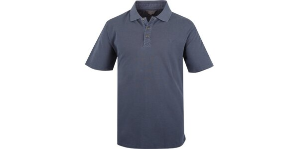 Pánské modré polo triko Bushman