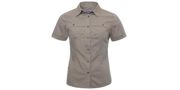 Dámská hnědá košile Bushman