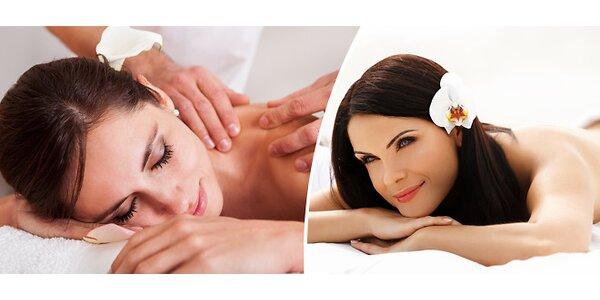 Relaxační masáž v délce 90 minut