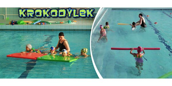 Plavání dětí od 3 do 10 let v Prostějově - 1 zkušební lekce
