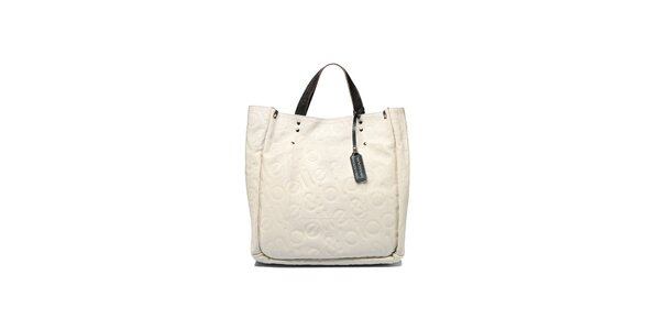 Dámská krémová kabelka Belle & Bloom