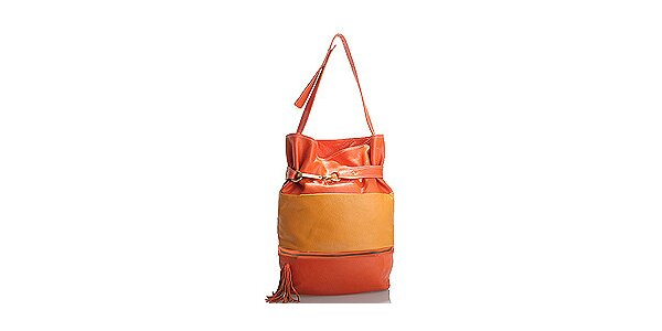 Dámská oranžovo-žlutá kabelka Belle&Bloom